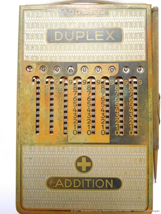 Addiator Duplex